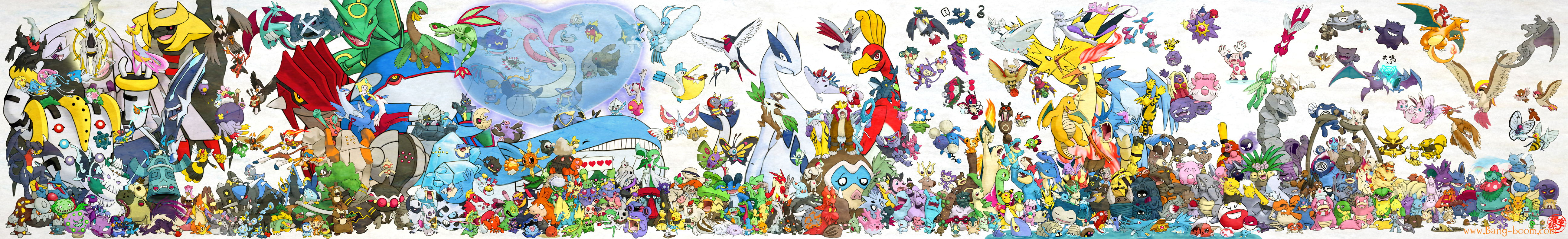493 Pokemon Assemble by Ninja-Jamal