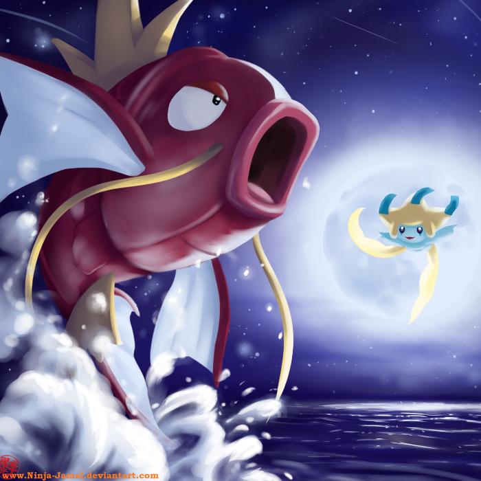 Un Pokémon à l'aspect farouche Magikarp_and_the_moon_by_ninja_jamal-d49tl4q