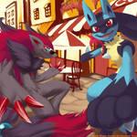 POkemon commission 01 + 02
