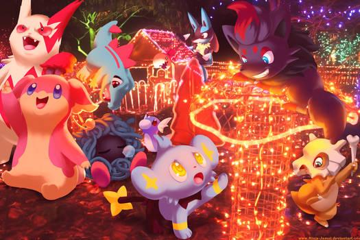 Wild pokemon Xmas 2011B