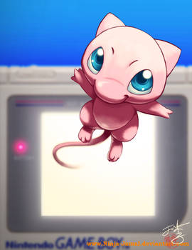 Catch Mew before it slips off!