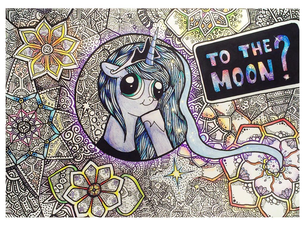 To the Moon by SiberianBearOK