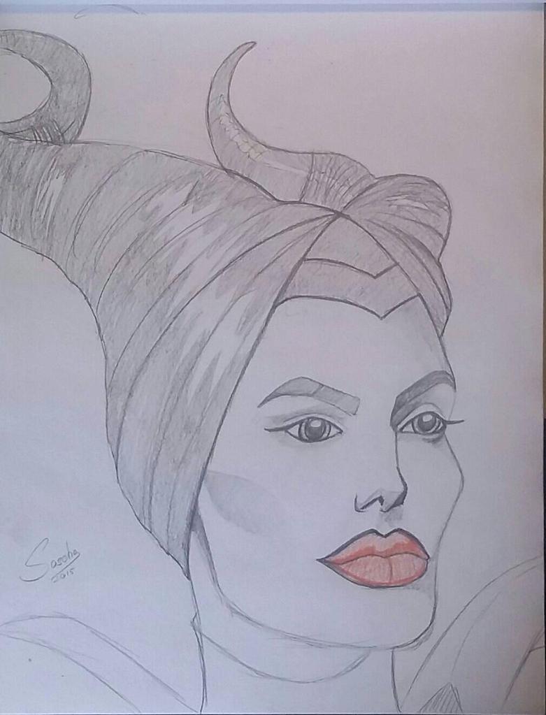 Maleficent sketch by GabrielFuture
