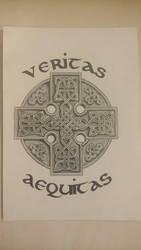 Celtic Cross v2 by GabrielFuture