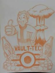 Fallout Fanart by GabrielFuture
