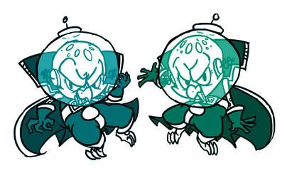 Evil Twins by Jocelynshi