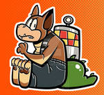Dingodile Sticker