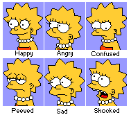 Lisa Simpson Profile Images by Cuddlesnowy