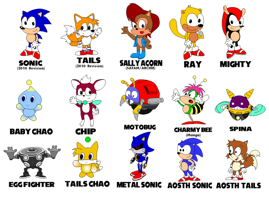 my sonic character art collection showcase ssmb