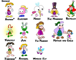 Rayman Characters- The Goodies