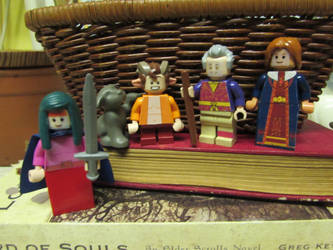 Custom Elder Scrolls LEGO Minifigs (Set 2) by Cuddlesnowy