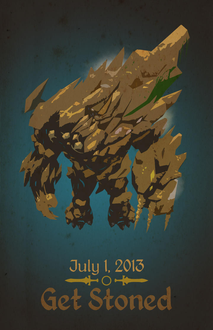 Vorago Retro Poster by TheSpicyHole