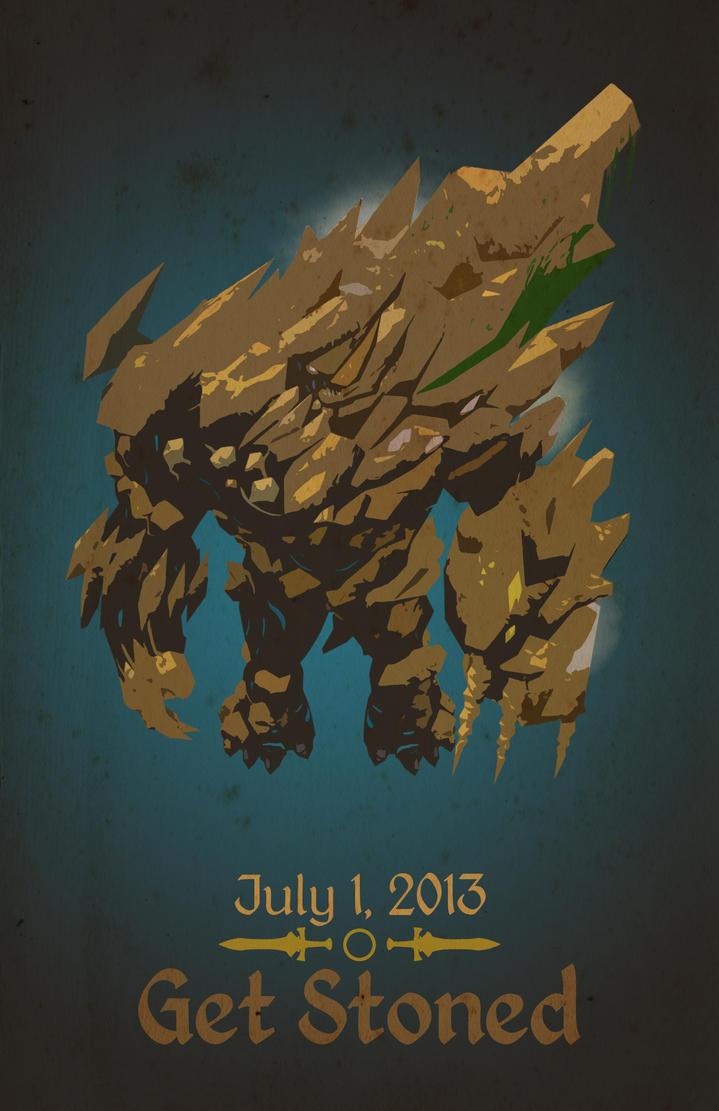 Vorago Retro Poster by TheSpicyHole