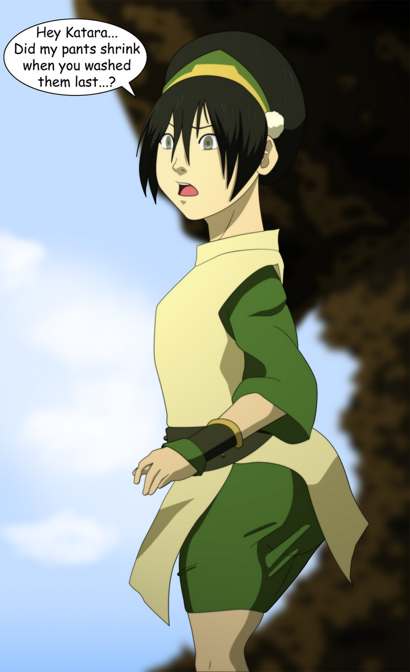 Avatar: Toph Grows Behind by SuraKuraAnon