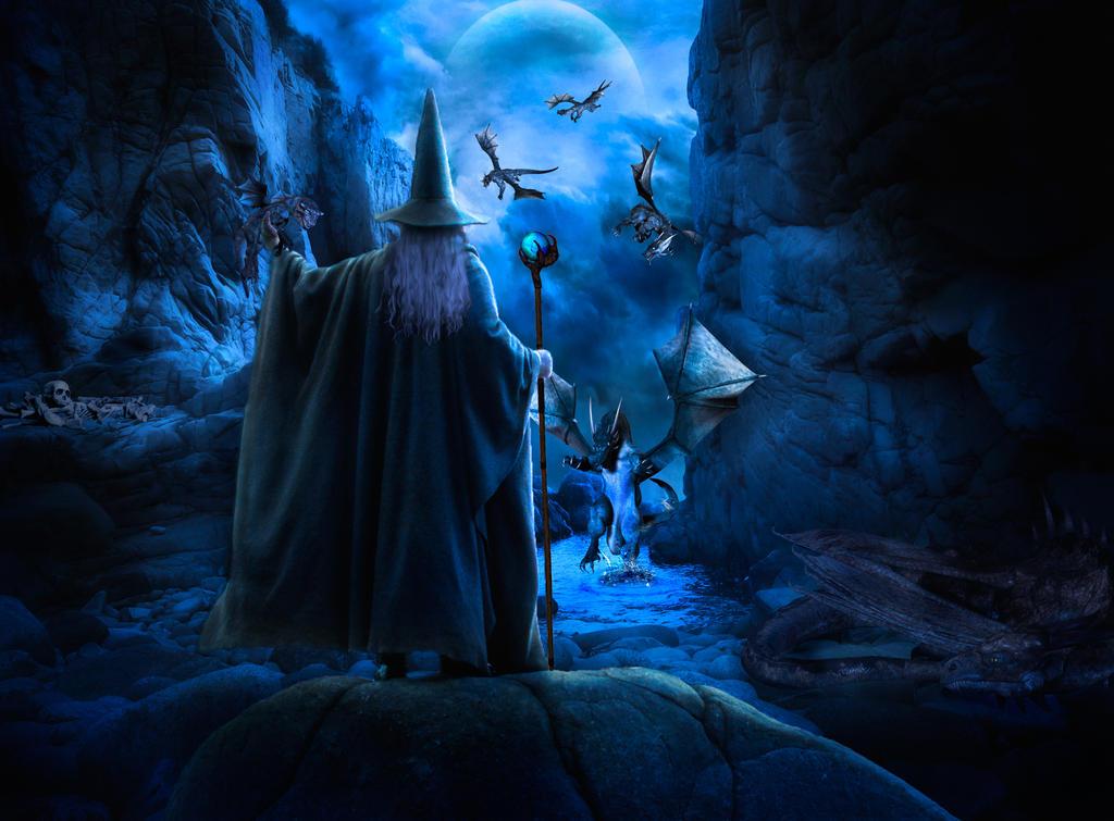 dragon wizard new born by gandolf67 on deviantart