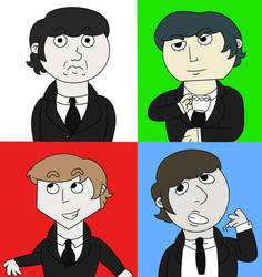 The Fab Four  by suzukipot