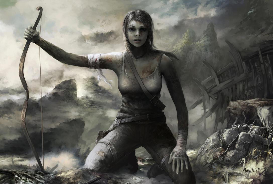 Lara Croft 'Reborn Contest Illustration' by samice