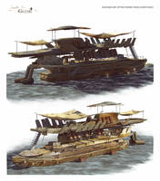 Ship Concepts by samice