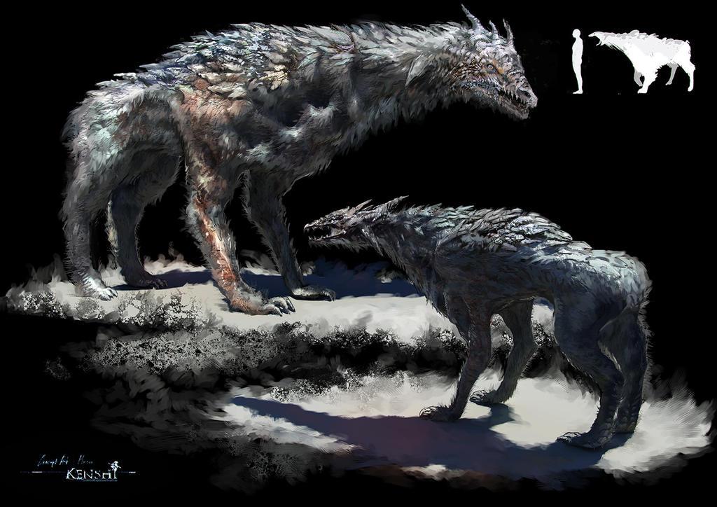 Ammons' Vault Creature_dog_conceptart_by_samice-d7j1q3b