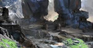ruins by samice