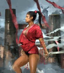 A Neutral Warrior by samice