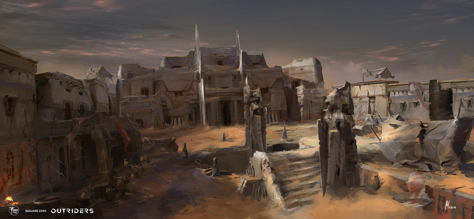 OUTRIDERS: Concept Art PACK 1
