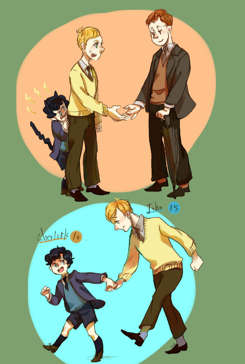 mycroft and sherlock age difference in relationship