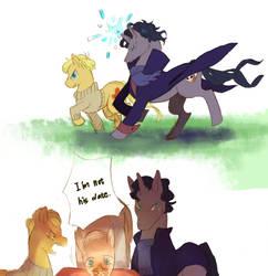 BBC sherlock pony