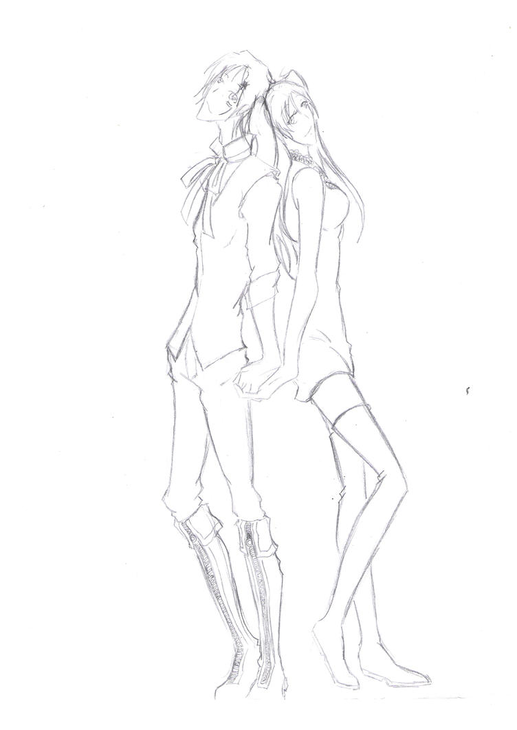 Couple drawing template holding hands allenxlenalee by haru strawberry on deviantart