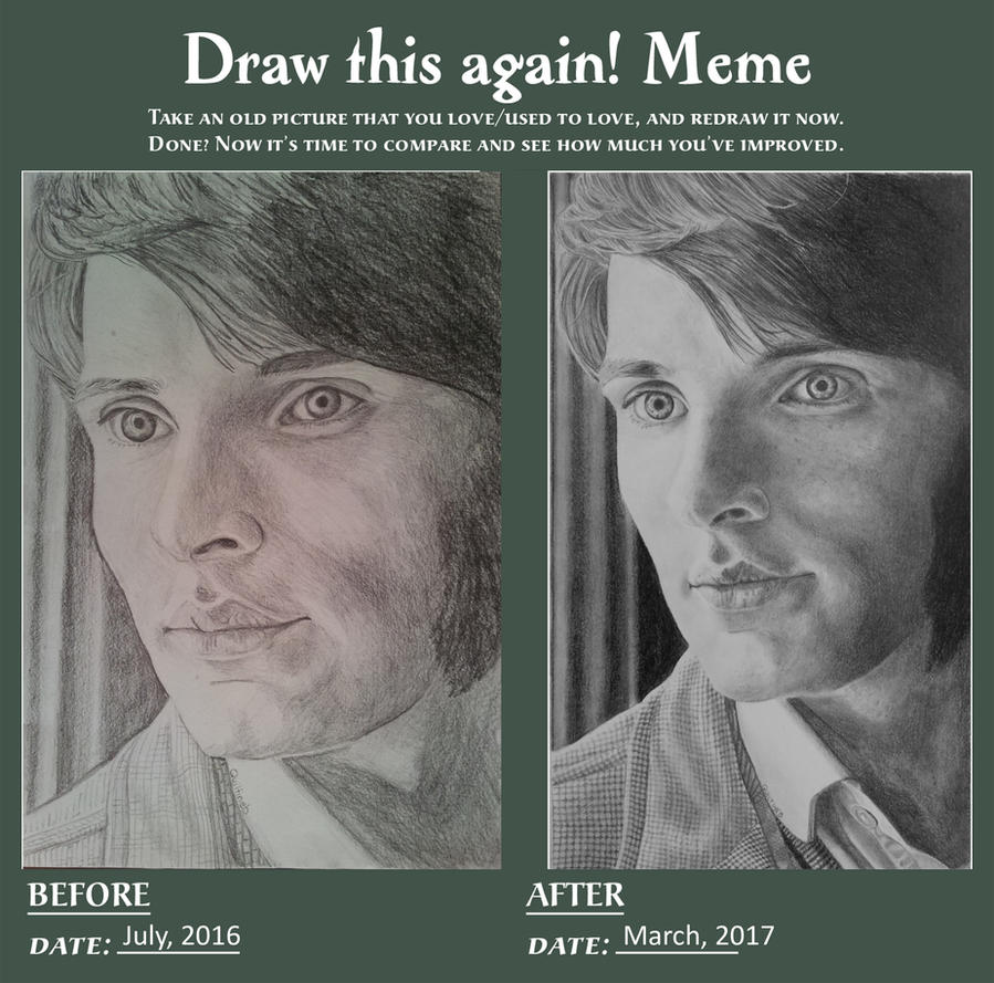 Draw This Again - Colin Morgan as Jimmy Minor by quiltineb