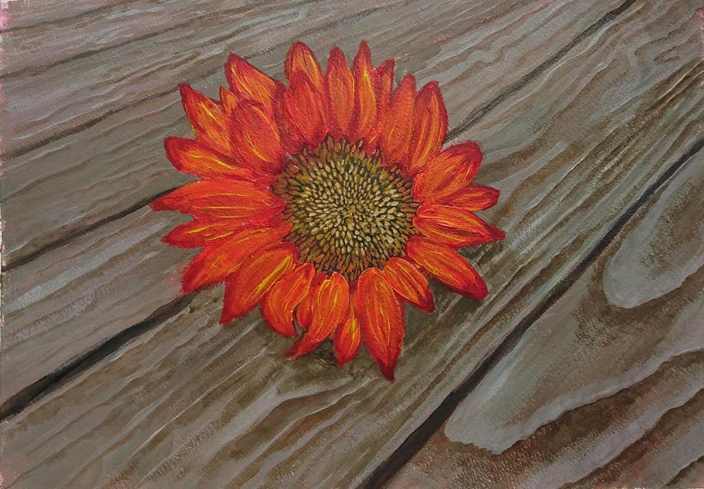 Sunflower by quiltineb
