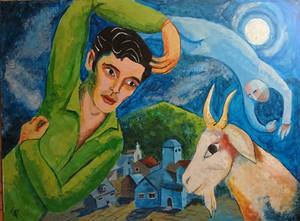 Colin Morgan Art Challenge - Marc Chagall