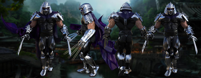 TMNT Shredder2 by JArtistfact