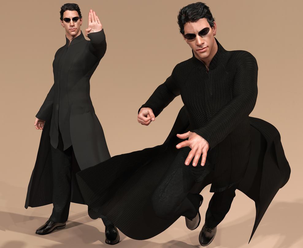 The Matrix NEO1 by JArtistfact