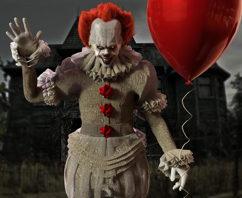 Wallpaper It Clown Bill Skarsgard Horror 2017 Hd: The StephenKing.com Message Board