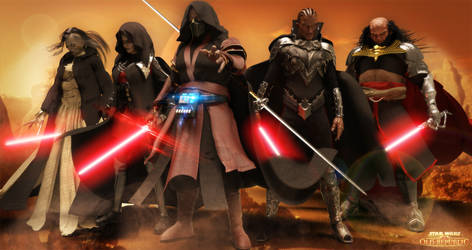 Star Wars EXILES by JArtistfact