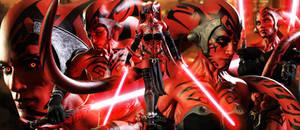 Star Wars DARTH TALON by JArtistfact
