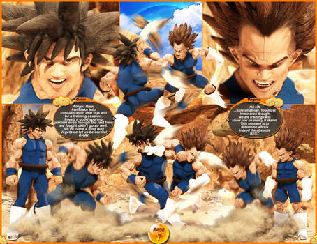 Dragonball Saiyan Showdown Page001