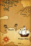 Skeleton Key Treasure Map