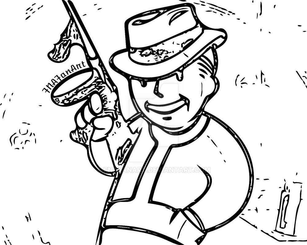vault boy with tommy gun vector by fnafanart on deviantart Tommy Toy's vault boy with tommy gun vector by fnafanart