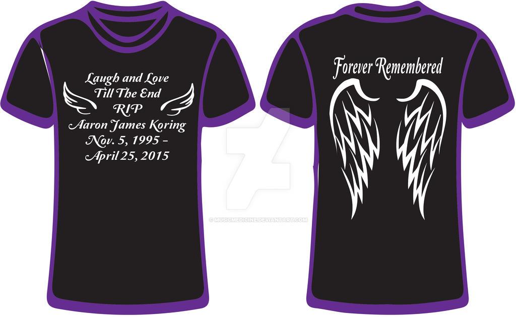 Memorial T Shirt Designs