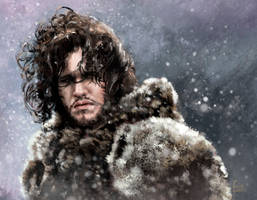 Jon Snow by Feig-Art
