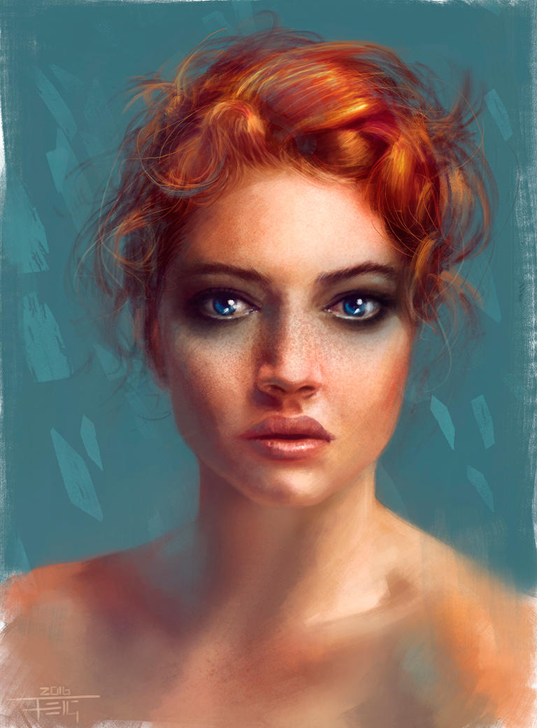 Portrait 1 by DarkLestat