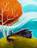 Toothless by Feig-Art