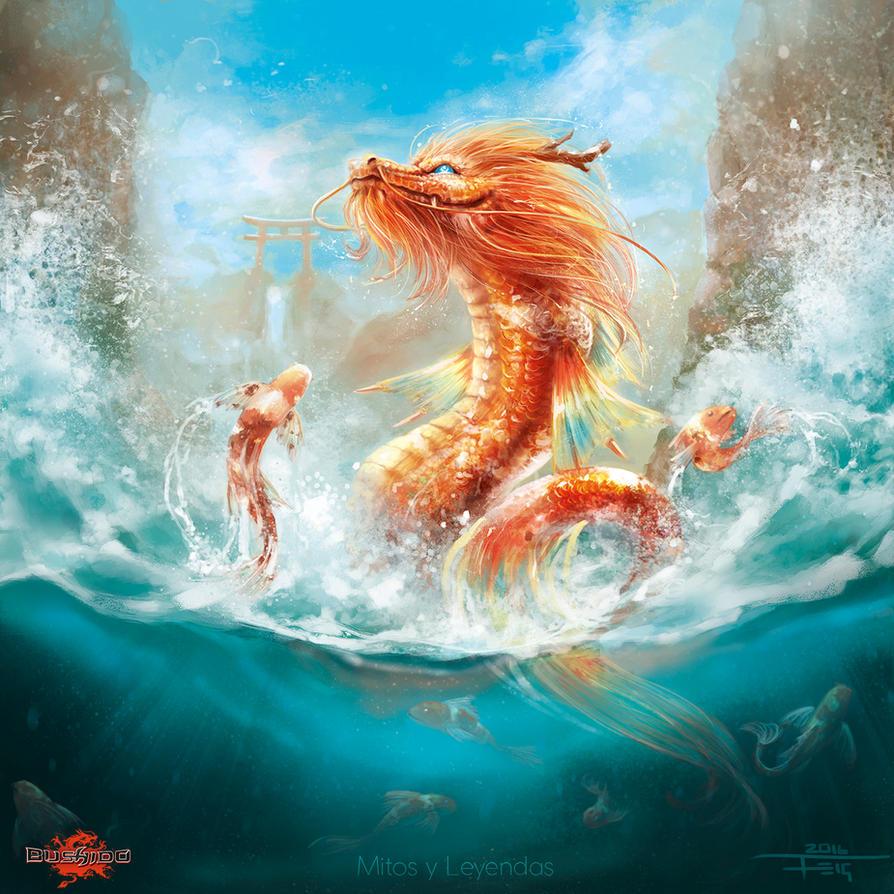 Dragon Carp By Feig Art On Deviantart