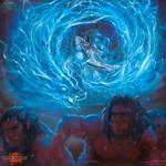 Burning Light Blue