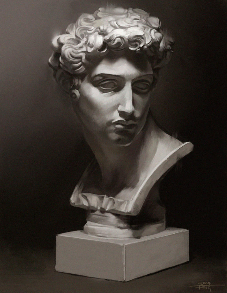 Sculpture study by DarkLestat
