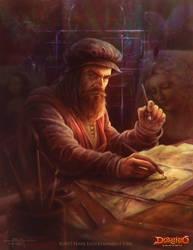 Leonardo Da vinci by Feig-Art
