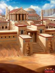 Serapeum of Alexandria by Feig-Art