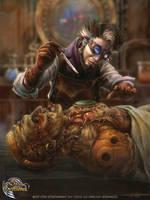 Victor Frankenstein by Feig-Art